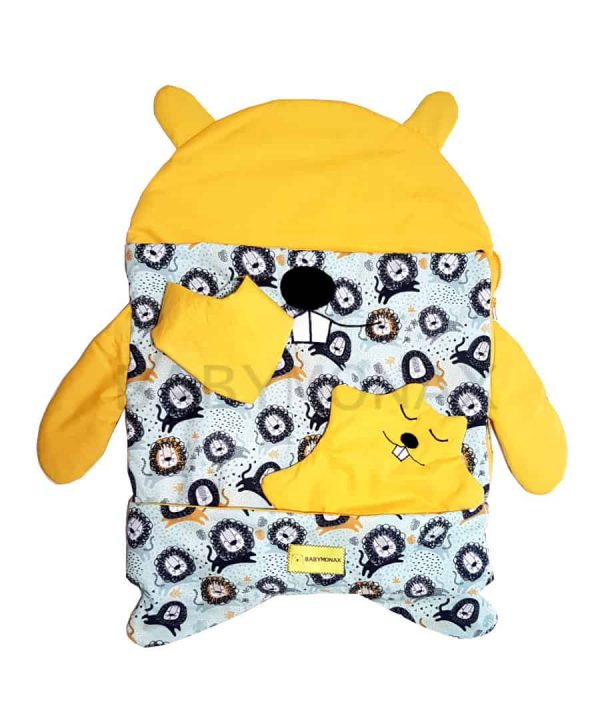 pack newborn, saco, doudou, bandana