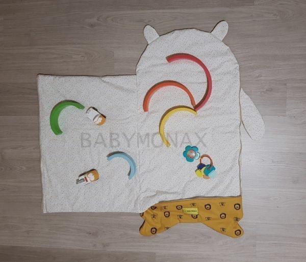 saco de bebe convertible en manta